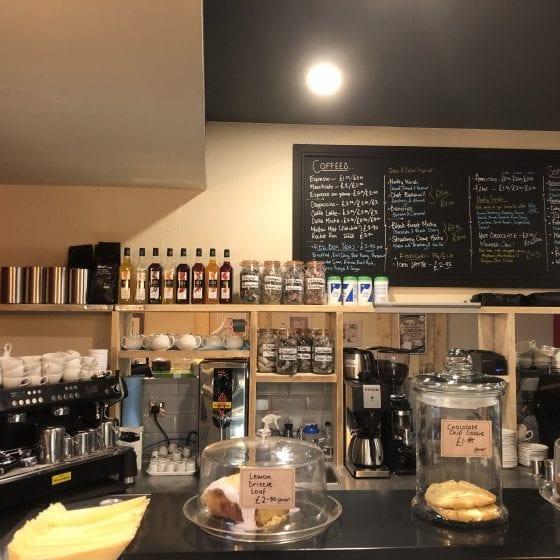 Internal photo of Stray's Coffee Shop Servery