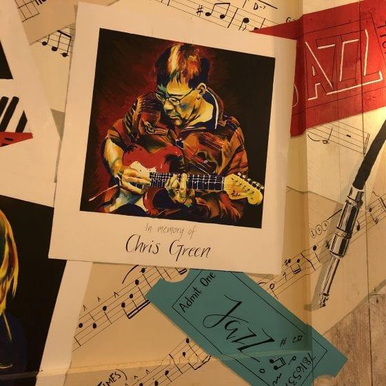 Photo of Jazz mural